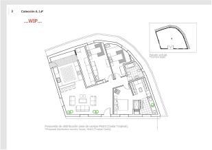 Planta vivienda residencial