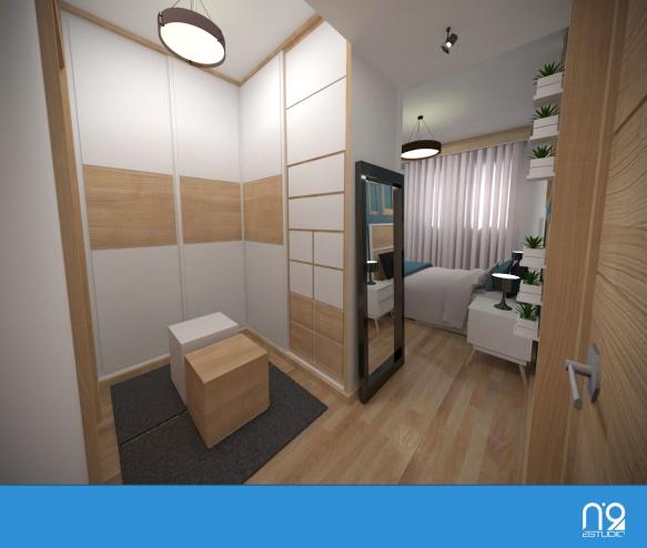 dormitorio entrada